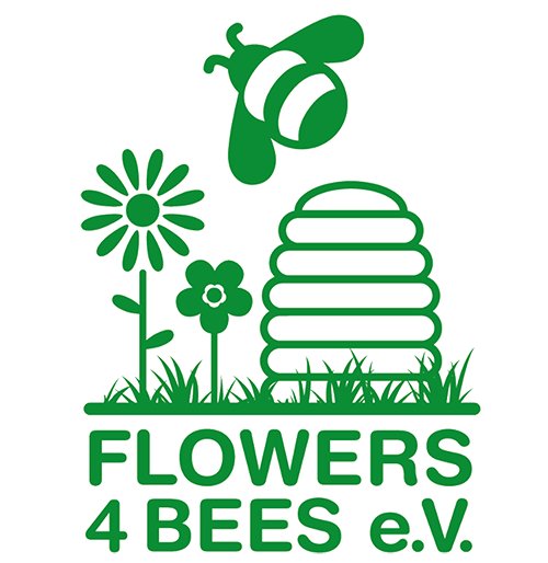 Flowers4Bees e.V. Logo